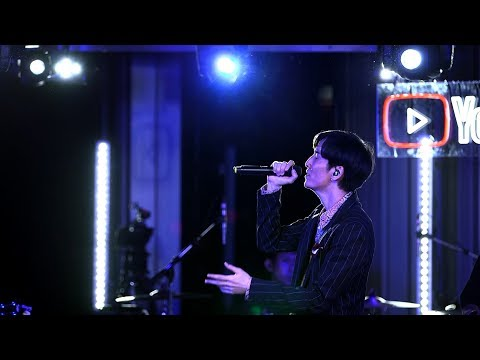 """[LIVE] Temporary / w-inds. (""""100"""" Premium Live from YouTube Space Tokyo)"""
