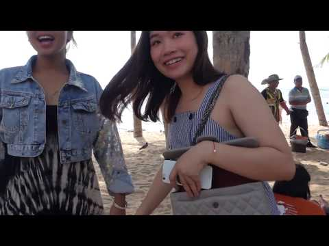 SG Go To Pattaya Beach–GFs, Sand & Sun (Just A Simple Walk Before Your Coming)