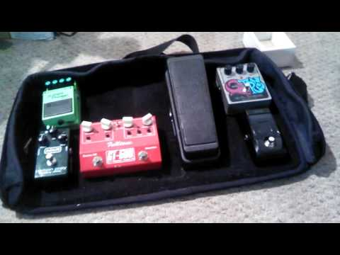 Rearranging my electric guitar pedalboard, part 1
