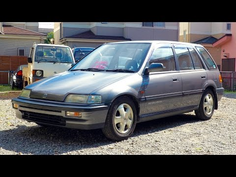 "1988 Honda Civic ""Shuttle"" EF2 (USA Import) Japan Auction Purchase Review"