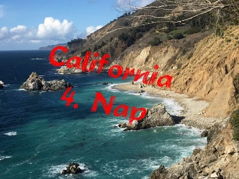 California 4. Nap | 10 órás út L.A. felé | Route 1