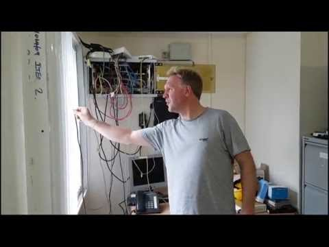 Turning badsignal into great signal. Installing a mobile phone signal booster in a house.
