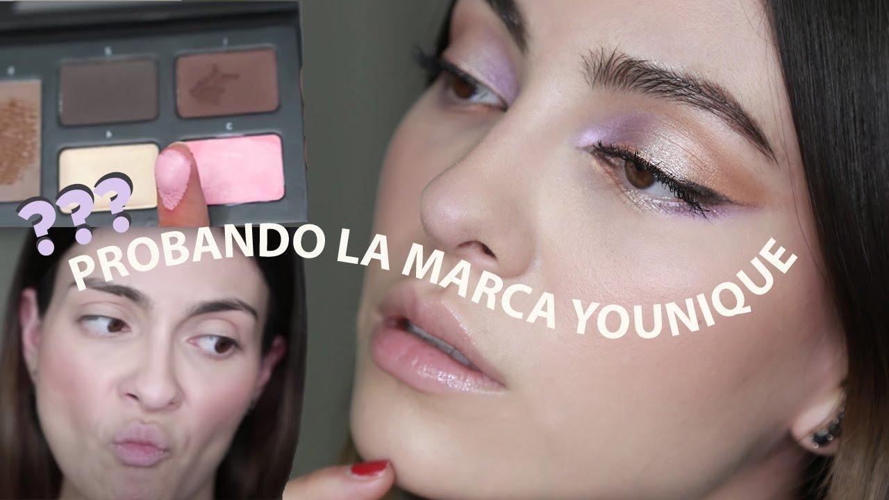 Reseña de YOUNIQUE maquillaje ¿vale la pena? ¿esta caro? | Anna Sarelly