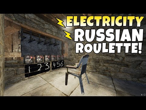 RUST | RUSSIAN ROULETTE with ELECTRICITY! *NEW UPDATE*
