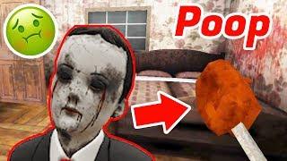 Evil Kid's Evil Poop - Evil Kid Horror Game Ghost Mode