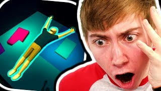 HARDCORE PARKOUR!! - Flip Trickster (iPhone Gameplay)