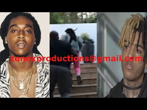 Xxxentacion makes takeoff migos run for his life after getting jumped!
