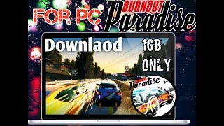Burnout Paradise The Ultimate Box Highly Compressed Free