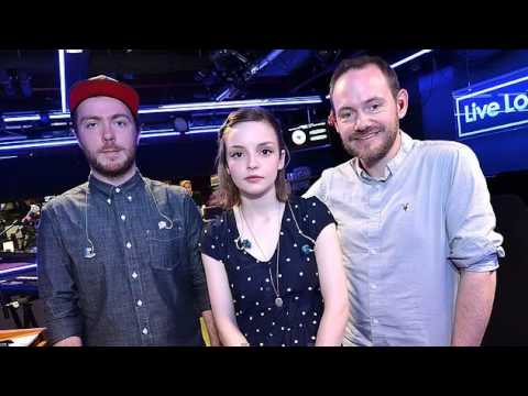 CHVRCHES - Get Away (BBC Live Lounge 19 February 2015)