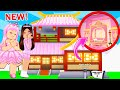 Turning *NEW* Lunar House Into A PINK MANSION In Adopt Me ft. Suzy Builds... Roblox