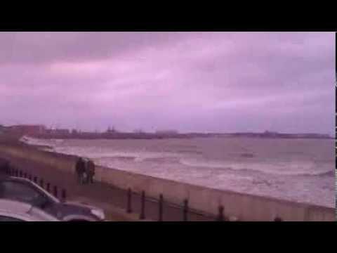 Time Laps Seaton Crashing Waves