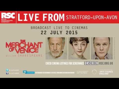 Cinema trailer | The Merchant of Venice | Royal Shakespeare Company