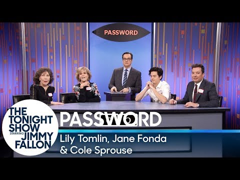 See Lily Tomlin, Jane Fonda and Cole Sprouse Play a Game of Password!
