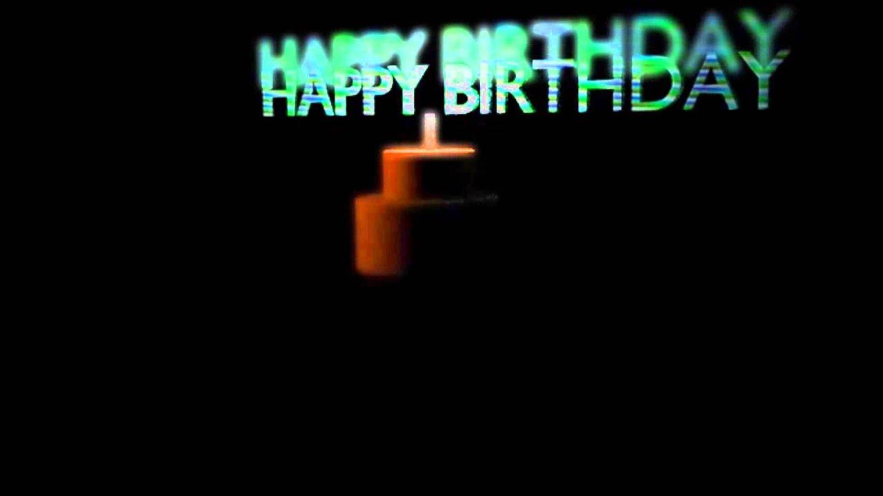 Cake 3D Animation Blender Happy Birthday YouTube