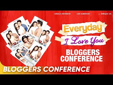 FULL: 'Everyday, I Love You' Bloggers Conference