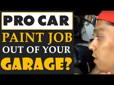 Can You Get a Professional Paint Job Out Of Your Garage?