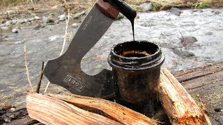 Download Lagu Making Tar from Fatwood - Natural Waterproofing mp3