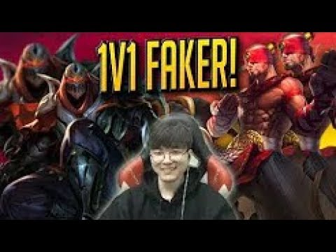 Faker 1v1 Viewers For Money   Fakers Stream Highlights Translated