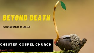I Corinthians 15:31-49 Beyond Death