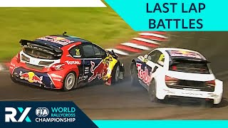 Most Dramatic Rallycross Finishes! | FIA World Rallycross