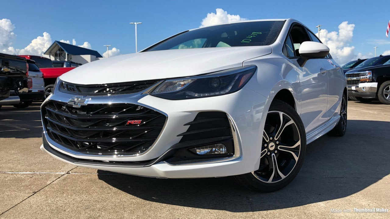 2019 Chevrolet Cruze Rs 1 4l Turbo Review Youtube