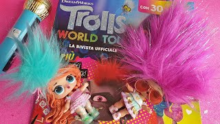 Trolls World Tour ✨ Glitter e Candy scoprono il magazine! [Unboxing]