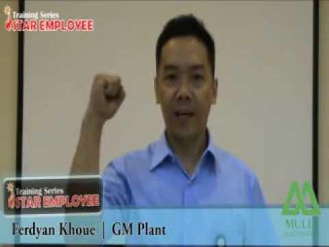 Testimoni dari General Manager Plant Mulia Glass Container Bapak Ferdian Khow