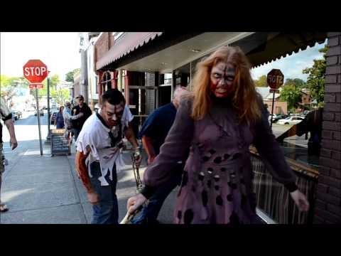 Zombies in Saratoga Springs, NY - #zombietoga