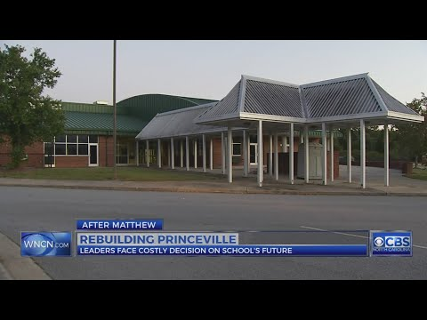 Edgecombe County officials ponder whether to rebuild Princeville Elementary School