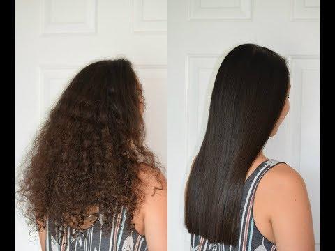 Shocking Before & After Brazilian Keratin Treatment