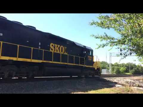 Southern Kansas Oklahoma (SKOL) Mixed Freight. May 26 2017