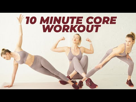 10 Minute Supermodel Ab Workout | Karlie Kloss