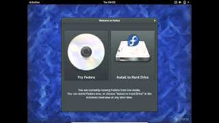 Installing Fedora 23 Workstation on VirtualBox