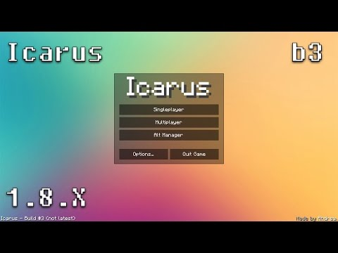 [Minecraft Hacked Client] Icarus b3 w/ Download