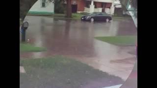 Thunder storm in Lamar Colorado