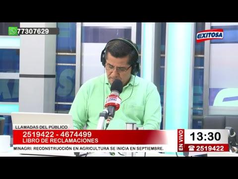 Exitosa Noticias 12 de agosto del 2017