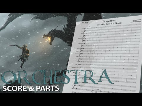 Skyrim: Dragonborn | Orchestral Cover