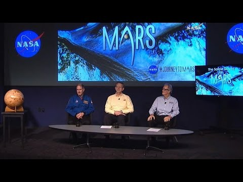 NASA announces discovery of water on Mars