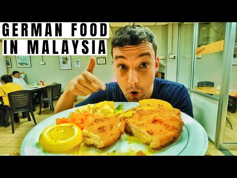 GERMAN FOOD in Malaysia? I found my favorite dish from home here! - Traveling Malaysia Episode 43
