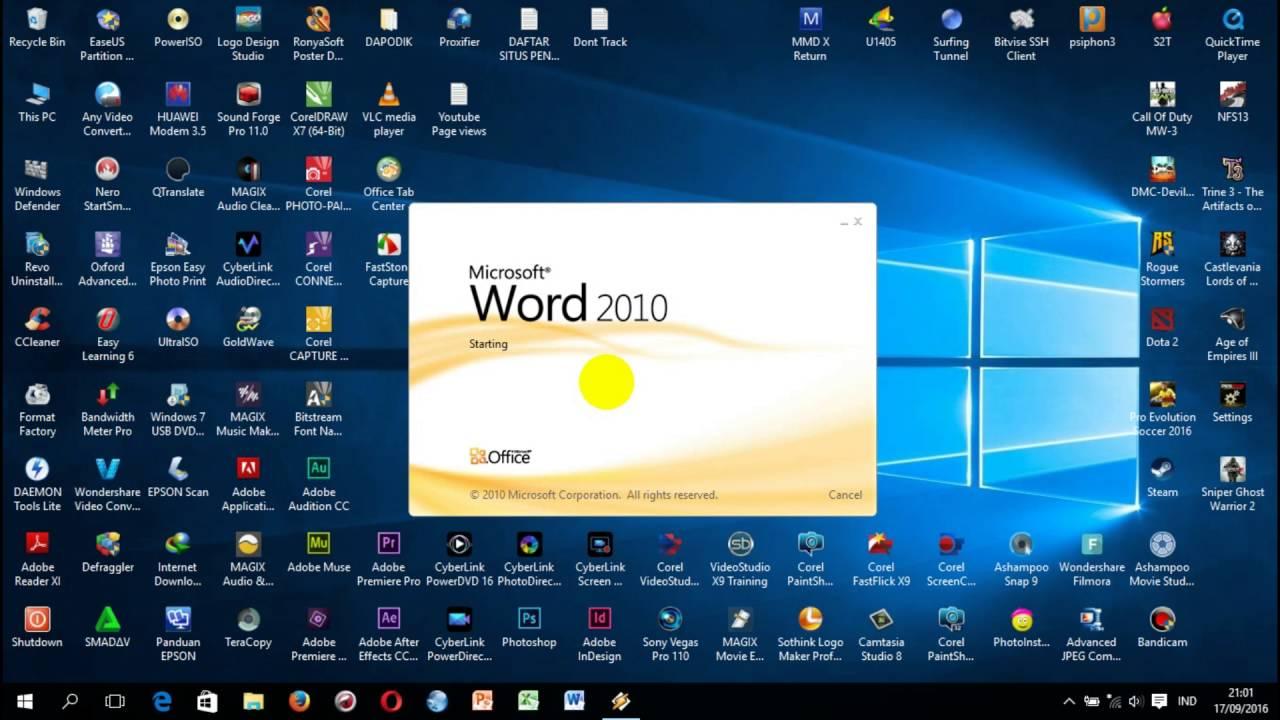 Cara Instal Font Arabic di Windows 10