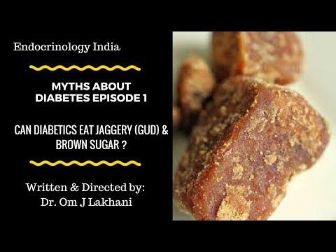 Can Diabetics eat Jaggery (Gud) / Brown sugar ?