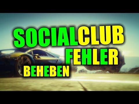 GTA V SOCIAL CLUB FEHLER FIX / PROBLEM BEHEBEN - ONKELZOCKER