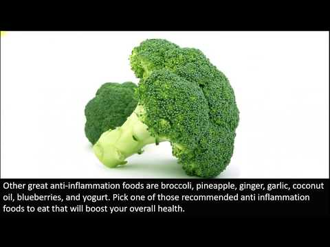 Top 3 anti inflamatory foods to eat