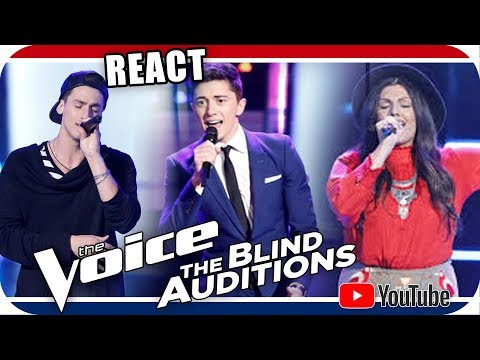Despacito no The Voice 2018 Blind Audition Jorge Eduardo, Austin Giorgio & Mia Boostrom