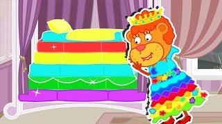 Lion Family Official Channel 👸 Fairy Tales #13. Princess and the Pea | Cartoon for Kids