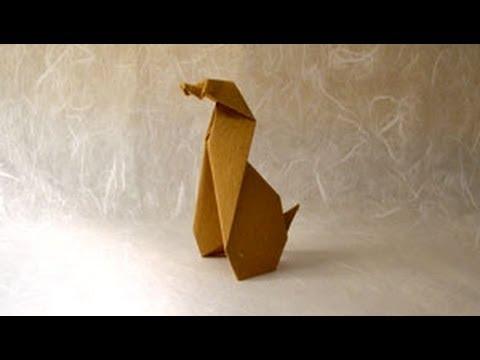 Origami Dog Instructions Origami Fun Youtube