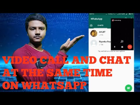 Video Calling And Chatting Like Messenger On Whatsapp