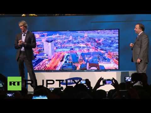 CES: Samsung unveils world