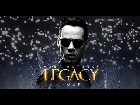 Marc Anthony Legacy Tour 2018