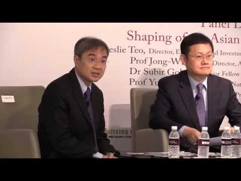 [Panel Discussion] Shaping of the Asian Financial Architectu